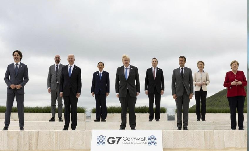 G7 ÜLKELERİNDEN YOKSUL ÜLKELERE 1 MİLYAR DOZ AŞI