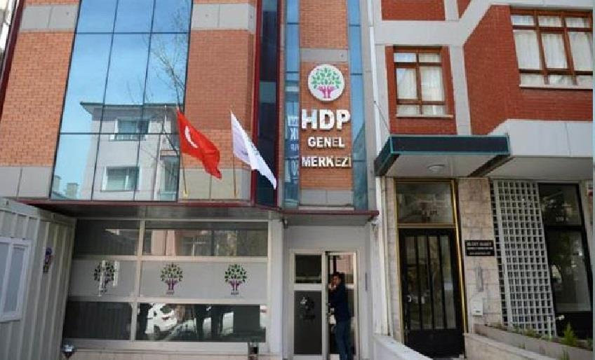 HDP'NİN KAPATILMASI İSTEMİYLE YENİDEN DAVA AÇILDI